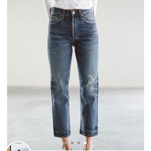 Citizens of Humanity Gia straight leg jeans 23 24